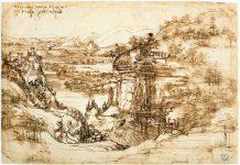 Il paesaggio di leonardo da Vinci al centro della contesa