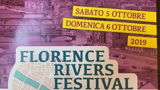 Florence Rivers Festival, due giorni di eventi sui fiumi fiorentini