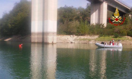 Uomo trovato morto nel Lago di Bilancino