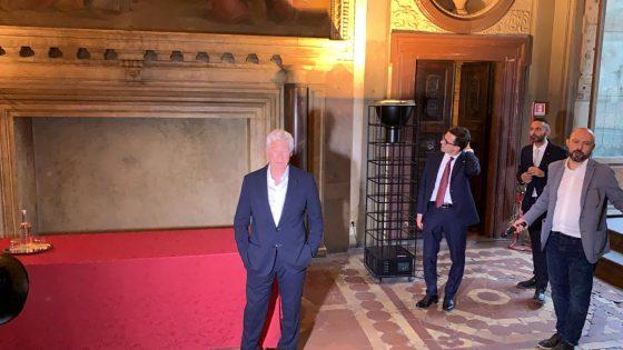 Firenze, consegnate Chiavi a Richard Gere per difesa diritti umani