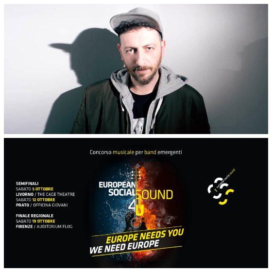 Giancane ospite della finale European Social Sound, sabato 19 ottobre