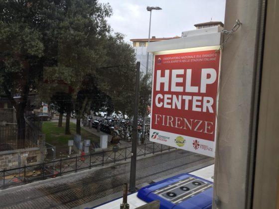 Inaugurato Help Center in stazione Firenze per i senza dimora