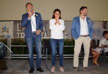 il segretarioMassimiliano Piccioli con l'europarlamentare PD Simona Bonafè alla Festa dell'Unità di Firenze