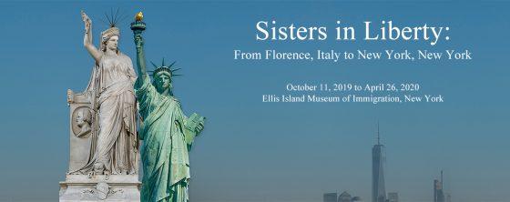 'Sisters in Liberty': La Statua della Libertà incontra la sua 'gemella' Fiorentina