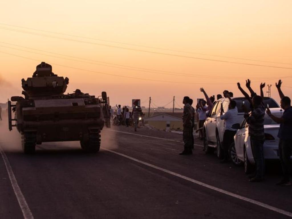 Erdogan ha dato il via all'offensiva in Siria