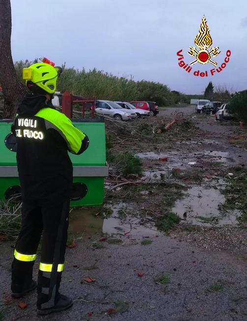 Maltempo: evacuati in 500 nel Livornese per piena Cecina