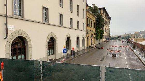 Fuga di gas, scoperta cavità sotto il piano stradale di Lugarno Diaz a Firenze