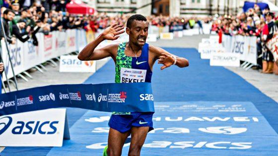 Firenze Marathon vincono Bekele e la debuttante inglese Piasecki