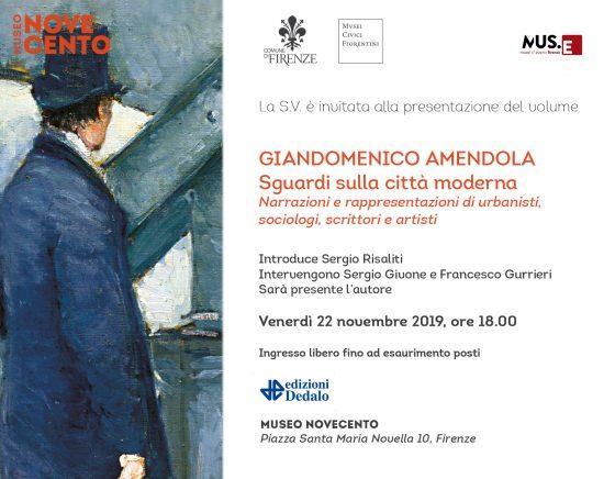 Al Museo del Novecento, dialogo con Giandomenico Amendola sul cambiamento delle città moderne