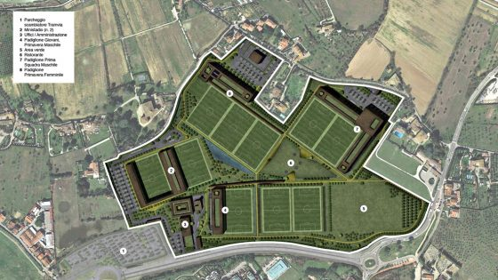 Il nuovo Centro Sportivo di ACF Fiorentina a Bagno a Ripoli