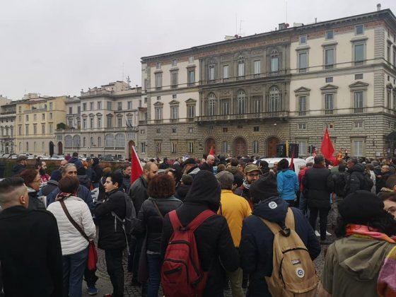 Firenze: in 300 al presidio antirazzista di Ponte Vespucci
