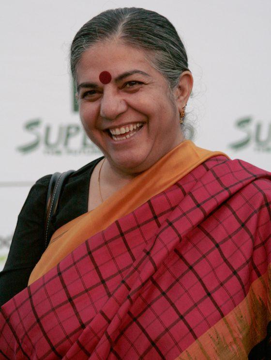 """A Firenze Vandana Shiva con """"L'agricoltura che fa bene al clima"""""""