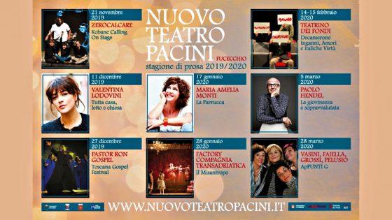 VI edizione della Stagione  Teatro Pacini di Fucecchio