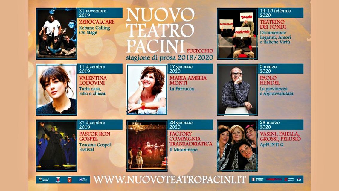 VI edizione della Stagione Teatro Pacini di Fucecchio - Controradio