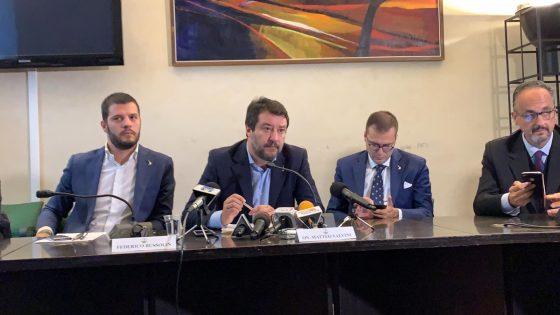 """Salvini: """"Ceccardi brava in Europa, sceglieremo il candidato entro novembre"""""""