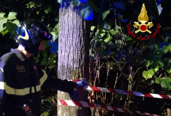 13enne cade in scarpata, soccorso dai vigili del fuoco a Montecatini