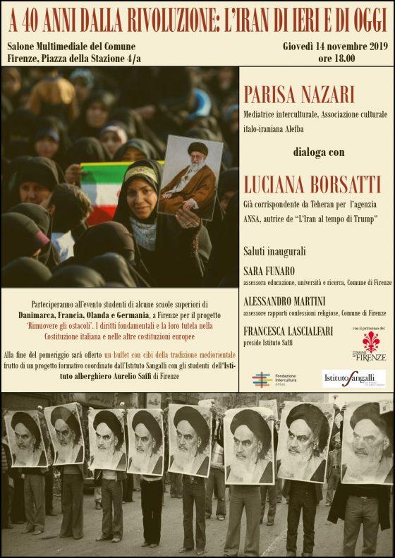 Le donne raccontano l'Iran. A Firenze dibattito e degustazione