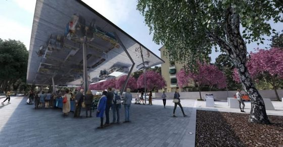 Al via i lavori per la nuova piazza dell'Isolotto a Firenze