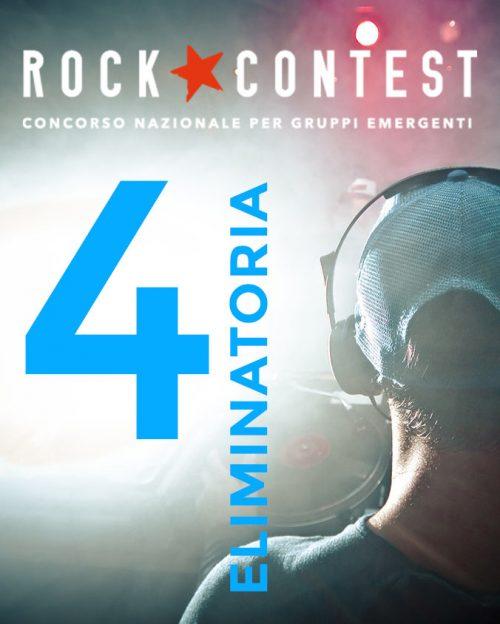 Quarta eliminatoria ROCK CONTEST 2019
