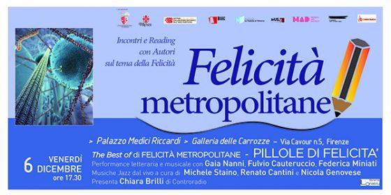 La Nottola di Minerva presenta 'The best of di Felicità Metropolitane'