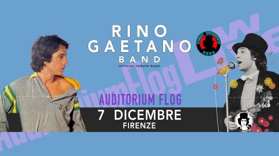 Rino Gaetano Band in concerto alla Flog di Firenze