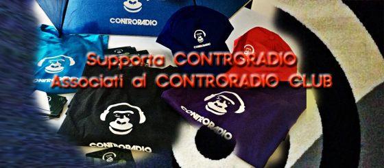 Controradio Club: domani radio aperta, vieni a fare la tessera 2020
