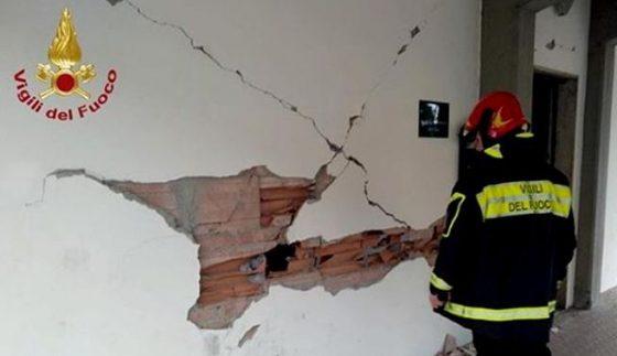 Terremoto Mugello: primi 12 edifici inagibili a Scarperia