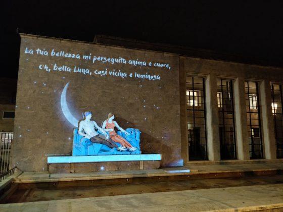"""""""Sbarco"""" della luna sulla Palazzina Reale con il Firenze Light Festival"""