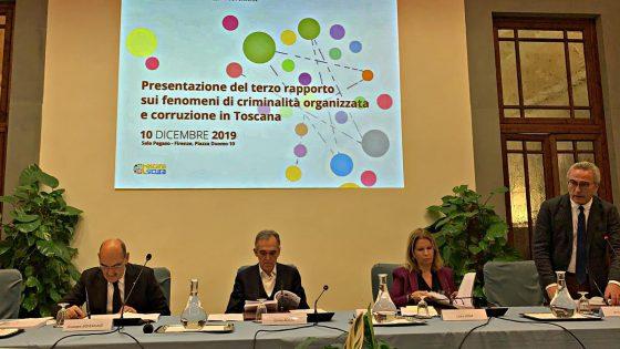 Rapporto Criminalità in Toscana: crescita gruppi criminalità organizzata