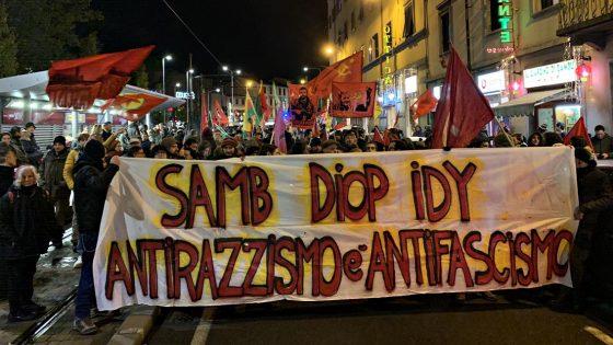Corteo per Piazza Dalmazia e Piazza Fontana