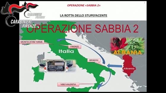 Blitz dei Carabinieri nella notte, arresti per traffico stupefacenti