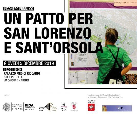 """""""Un patto per San Lorenzo e Sant'Orsola"""""""