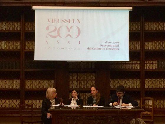 Gabinetto Vieusseux festeggia 200 anni con due anni di eventi