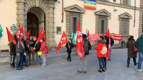 Protesta dipendenti Careggi, applicare l'integrativo