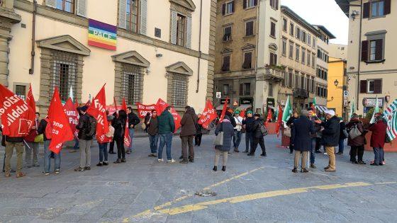 protesta dipendenti careggi