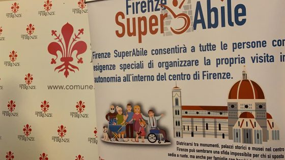 'Firenze Superabile', presentata la guida dei percorsi in autonomia