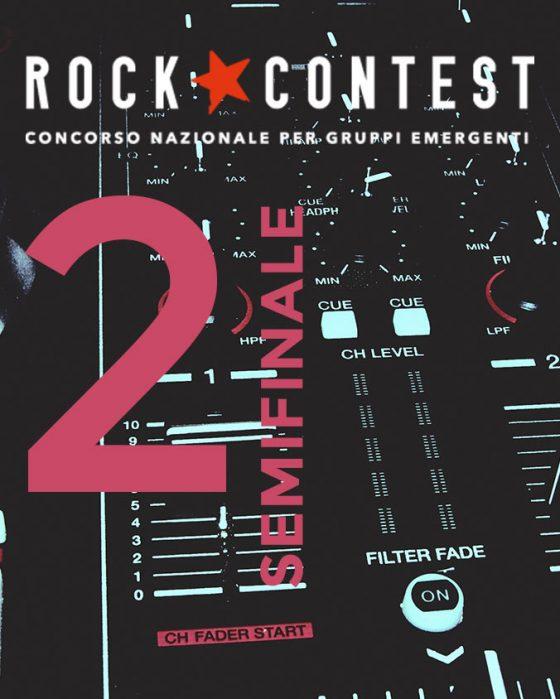 Rock Contest: seconda e ultima semifinale. Mercoledì 4 dicembre, Glue Firenze