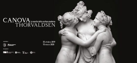 Canova  e Thorvaldsen: la grande bellezza. In mostra a Milano.