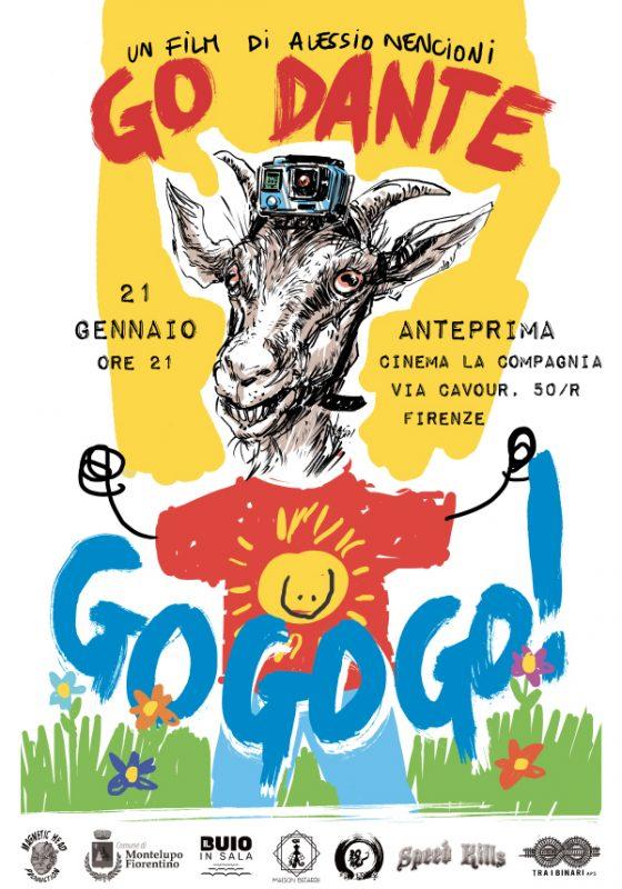 """L'anteprima del film """"Go Dante go go go"""" alla Compagnia di Firenze"""