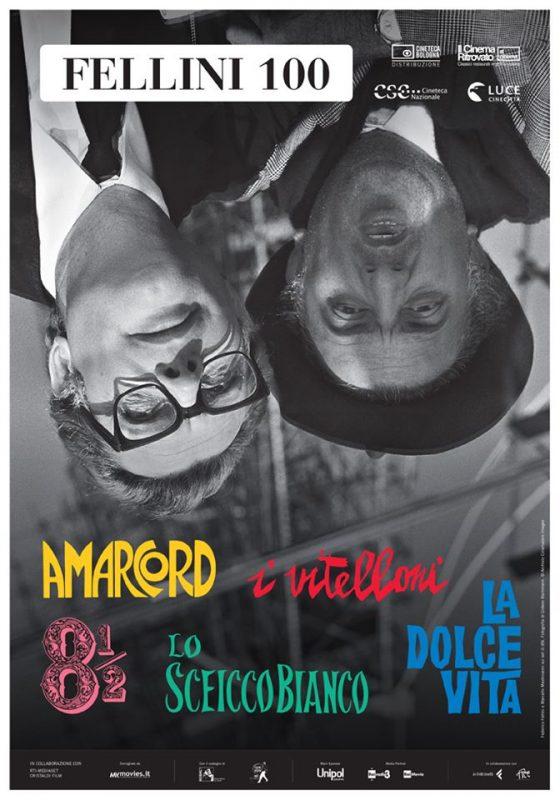 """All'Odeon """"Fellini100"""", la retrospettiva sul regista per il centenario della nascita"""