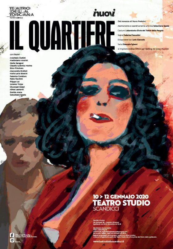 """Da venerdì 10 a domenica 12 gennaio al Teatro Studio 'Mila Pieralli'  I Nuovi con """"Il Quartiere"""""""