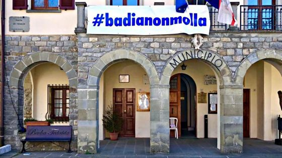 Badia Tedalda, provincia di Arezzo, è 'Zona Rossa'