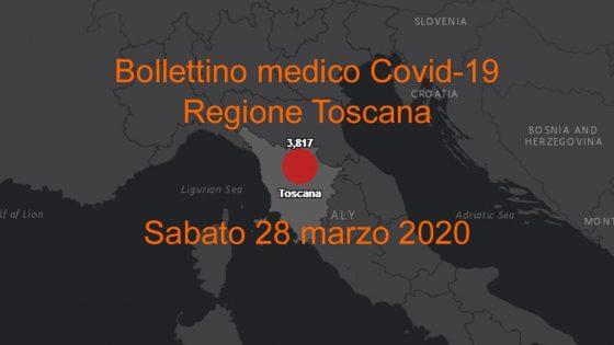 Coronavirus Report Regione Toscana, 252 nuovi casi 21nuovi decessi