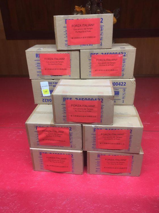 Coronavirus: dalla comunità cinese di Prato 30mila mascherine per Codogno