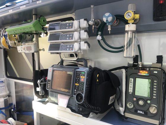 Coronavirus Toscana:  tre ambulanze delle Misericordie  trasformate in 'Centri mobili di rianimazione'