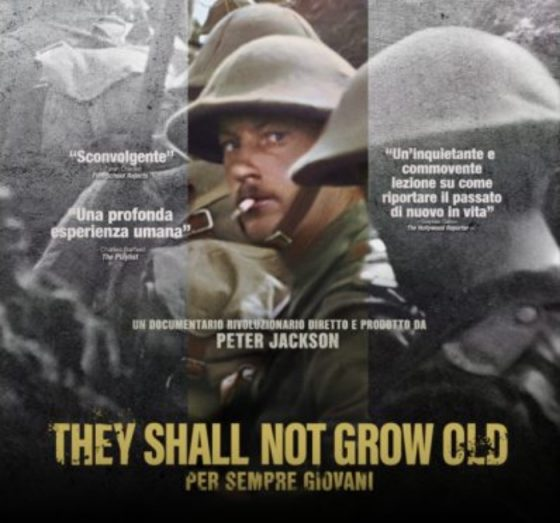 They shall not grow old di Peter Jackson arriva al cinema Odeon