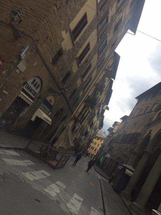 Via de' Neri: il 'Borg'unto' di nessuno, senza panini e senza turisti