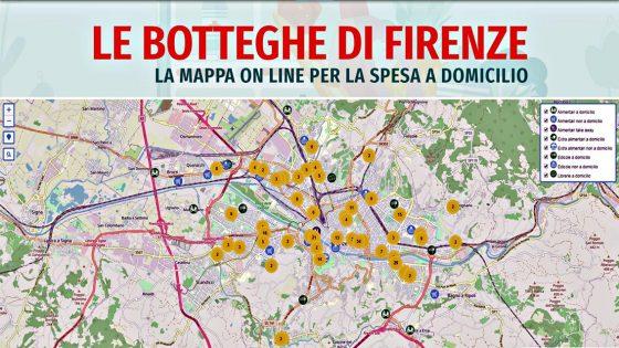 'Botteghe di Firenze', 500 iscritti di esercizi aperti o take away