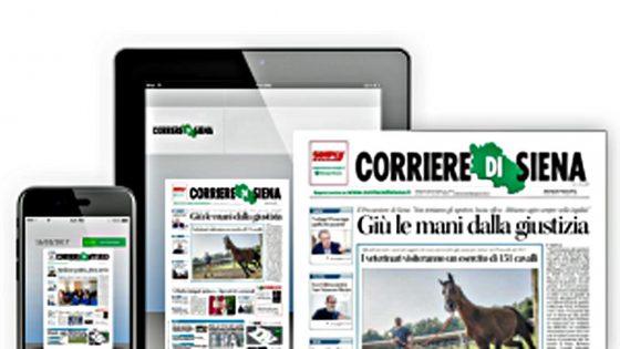 Giani, Corriere Siena torna in edicola da 21/4