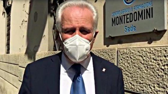 Montedomini, riceve 500 dispenser gel disinfettante